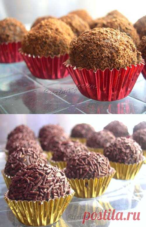Шоколадные Bon-Bon