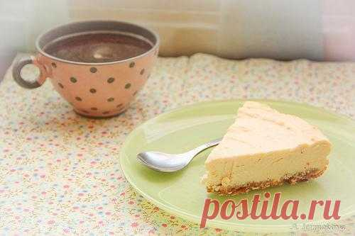 Collection of cheesecakes: Citrus cheesecake