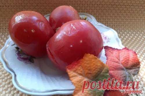 Быстрый рецепт приготовления соленых помидор без уксуса. Такие помидоры съедаются сразу после приготовления. Попробуйте соленые помидоры – хит летних закусок!