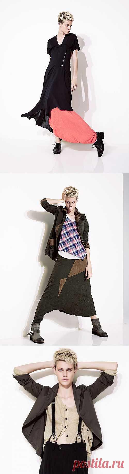 Yohji Yamamoto SS 2013 (трафик) / Лукбуки / Модный сайт о стильной переделке одежды и интерьера