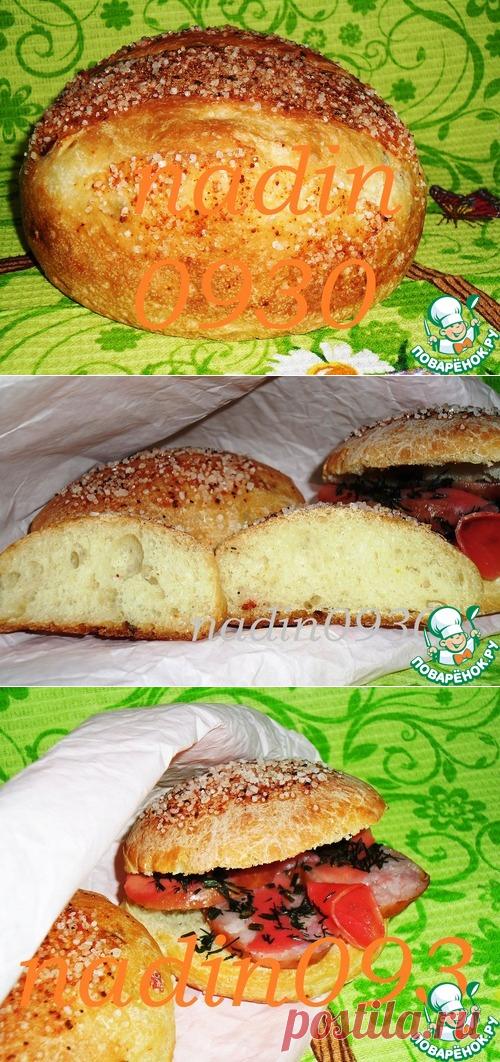 Булочки перечные бутербродные - кулинарный рецепт