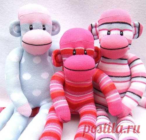 Как просто сшить обезьяну своими руками | Самошвейка - сайт для любителей шитья и рукоделия