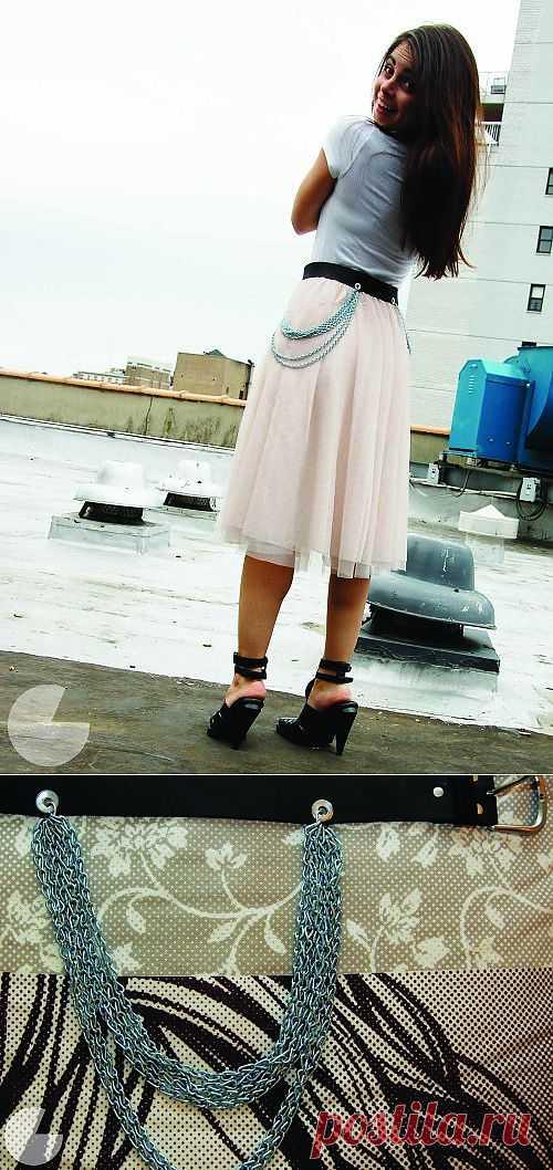 Ремень с цепями (Diy) / Ремни / Модный сайт о стильной переделке одежды и интерьера