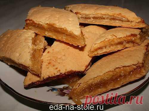 Печенье с лимонной начинкой | Еда на столе