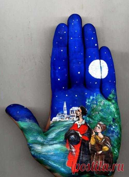 Любимые сказки на ладонях - Художники и арт-проекты