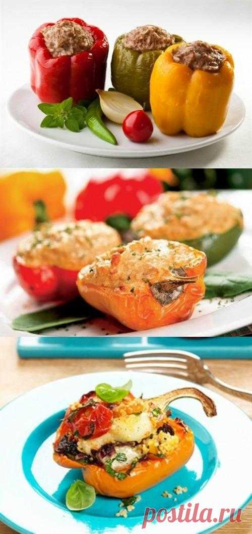 Фаршированный перец – легко и вкусно!