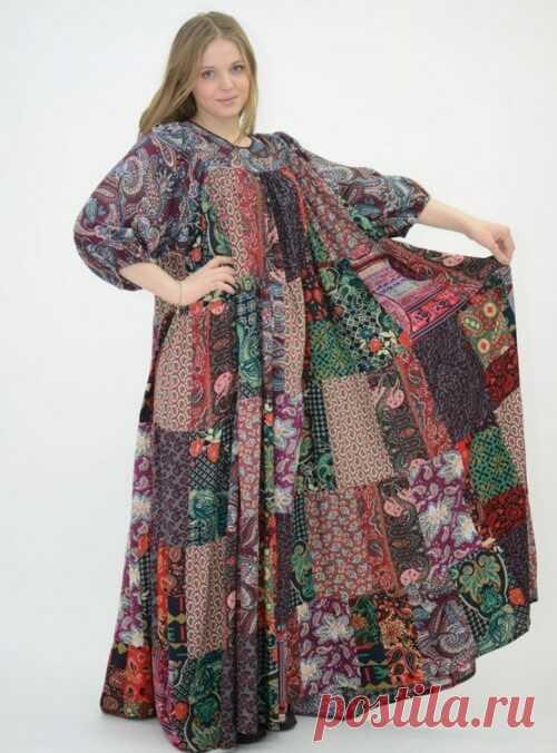 Бохо стиль: выкройки платьев, юбок, сарафанов, туники, блузы, кардигана, брюк для полных женщин…