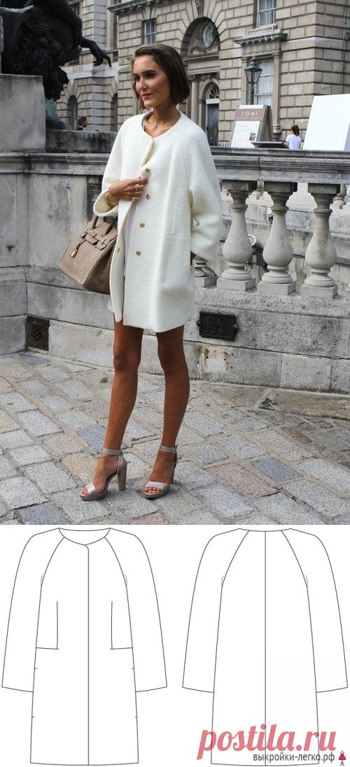 El patrón preparado del abrigo-capullo fácil | los Patrones onlayn y las lecciones de la modelación