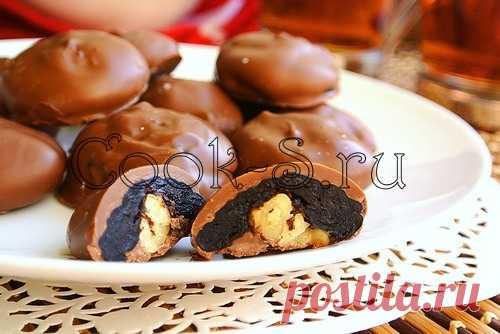 Чернослив в шоколаде - Пошаговый рецепт с фото | Десерты