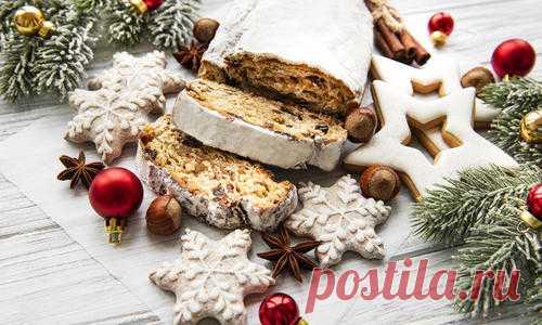 Этот традиционный кекс с насыщенным вкусом считается главной выпечкой европейских рождественских праздников. Но он настолько вкусный, что пекут его не