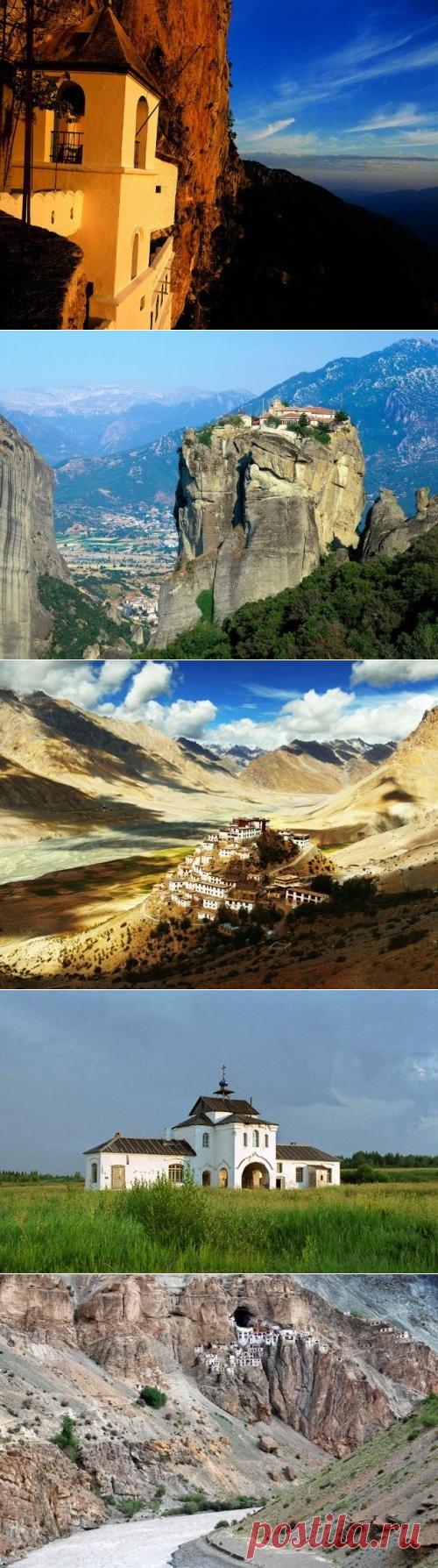Вдали от мирской суеты: 10 самых потрясающих труднодоступных монастырей мира / Туристический спутник