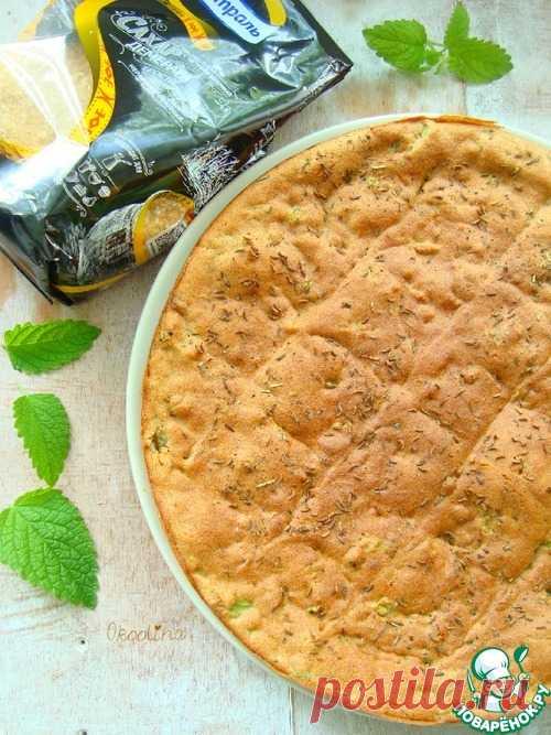 Луковая лепешка – кулинарный рецепт
