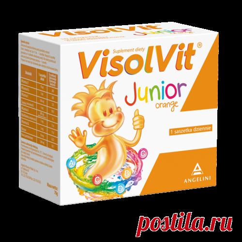 VISOLVIT JUNIOR orange flavoring x 10 sachets - visolvit junior