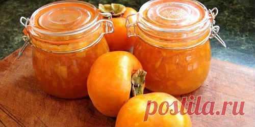 Варенье из хурмы - рецепты с лимоном, апельсином, яблоками