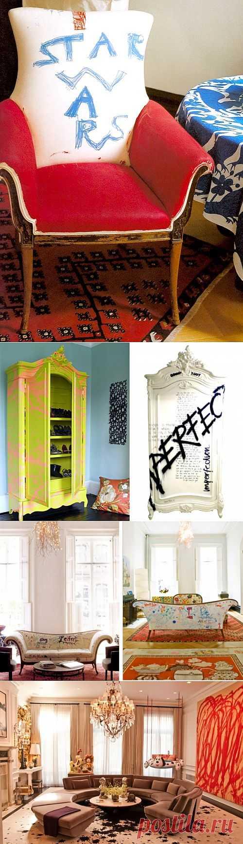 Один дома (трафик) / Мебель / Модный сайт о стильной переделке одежды и интерьера