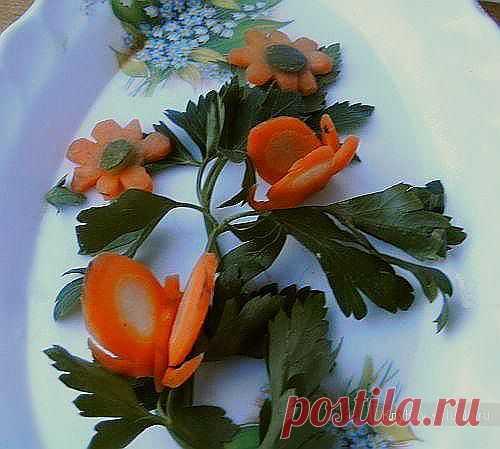 Карвинг для начинающих. Бабочка из моркови / Карвинг из овощей и фруктов - фото, видео для начинающих / КлуКлу. Рукоделие - бисероплетение, квиллинг, вышивка крестом, вязание