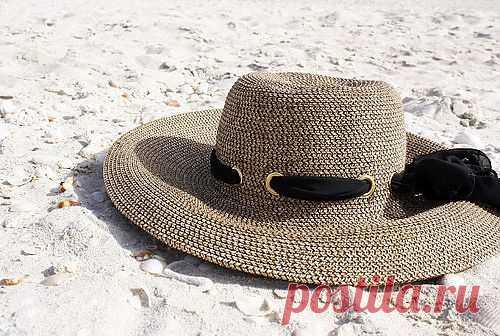 Простая идея декора шляпы / Головные уборы / Модный сайт о стильной переделке одежды и интерьера