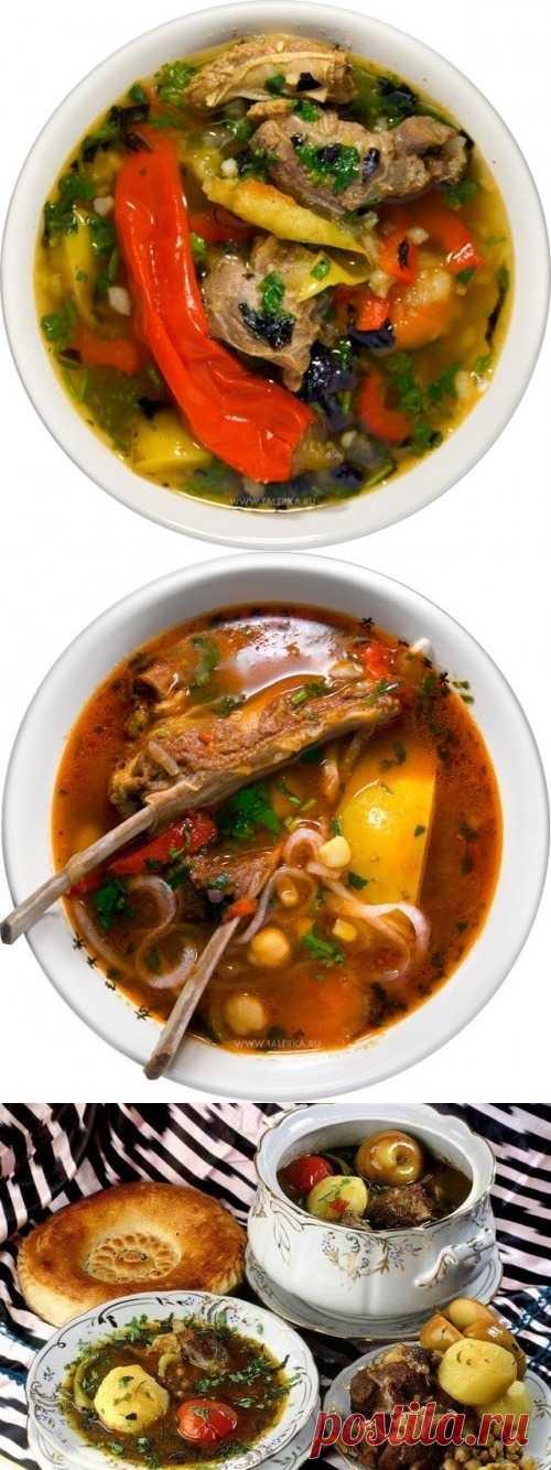 Суп шурпа – для праздников и будней (для получения рецепта нажмите на картинку)