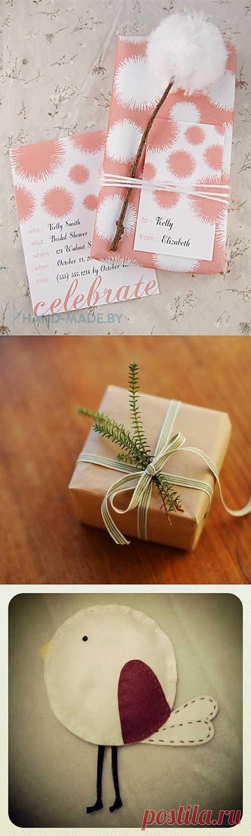 Минималистичная упаковка подарков / Упаковка подарков / Модный сайт о стильной переделке одежды и интерьера