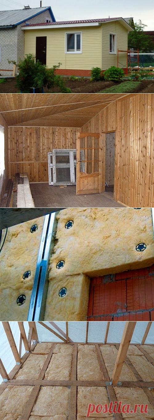 Как утеплить кирпичную стену веранды с фото