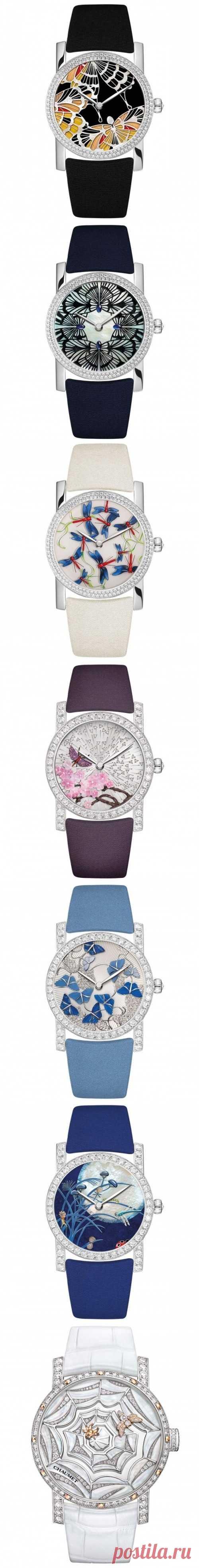 Ультрамодные часы от Chaumet