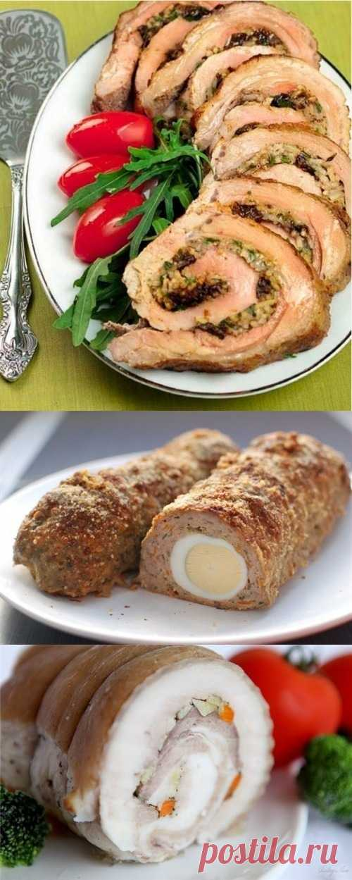 Как готовить мясной рулет (для получения рецепта нажмите на картинку)