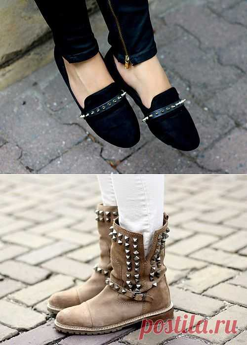 Обувь с шипами / Обувь / Модный сайт о стильной переделке одежды и интерьера