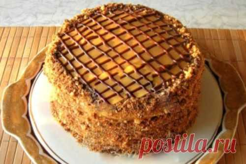 Очень вкусный и простой в приготовлении торт «Витязь»