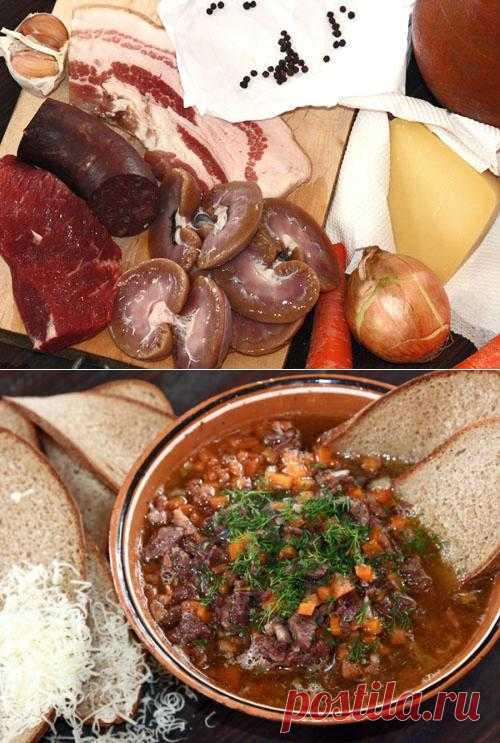 Итальянский суп карчерато