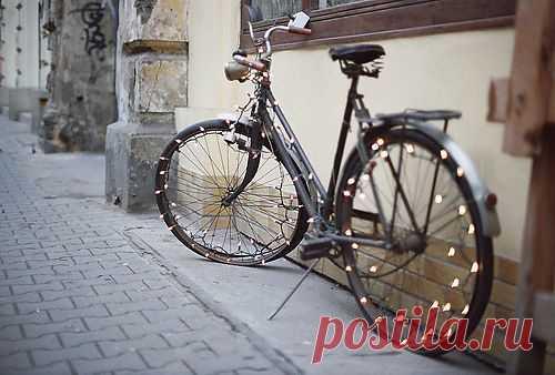 Новогодний велосипед / Авто Мото Вело / Модный сайт о стильной переделке одежды и интерьера