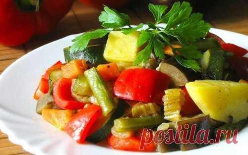 Блюда из замороженных овощей / Простые рецепты
