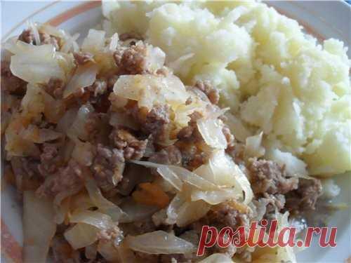 Капуста тушеная с фаршем 🚩 как потушить капусту с фаршем 🚩 Кулинарные рецепты