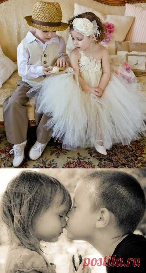 Young princesses with gentlemen