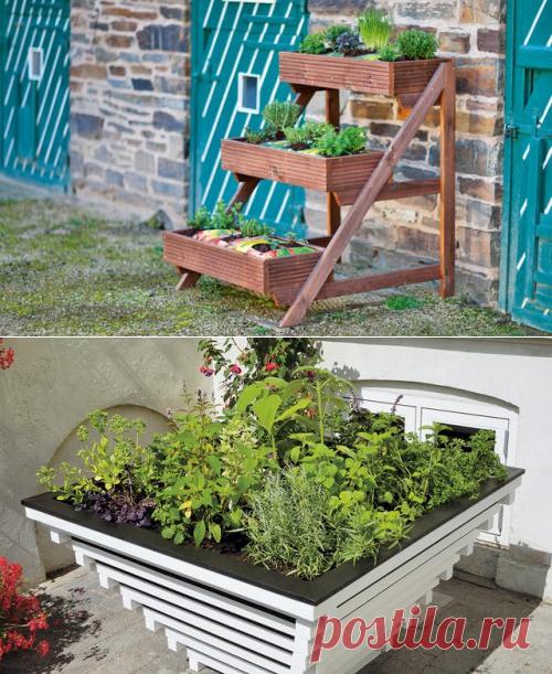 Los parterres portátiles para el jardín — 6 sotok