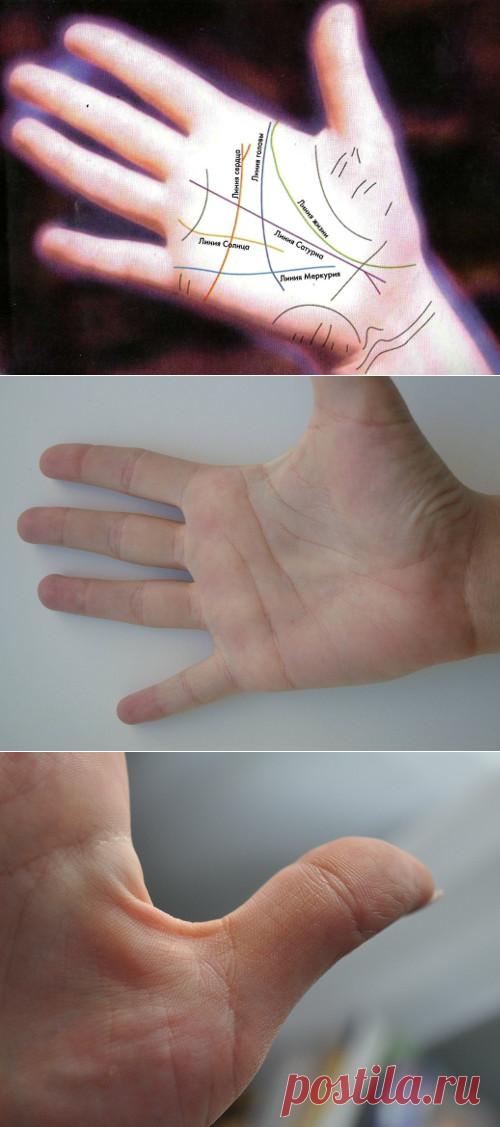 Как сфотографировать линии руки