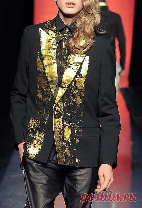 Золотой закат / Пачкаем / Модный сайт о стильной переделке одежды и интерьера