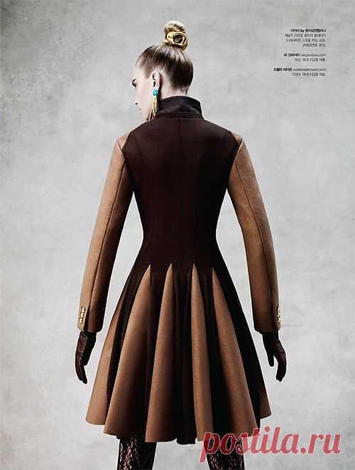 Интересная деталь / Пальто и плащ / Модный сайт о стильной переделке одежды и интерьера