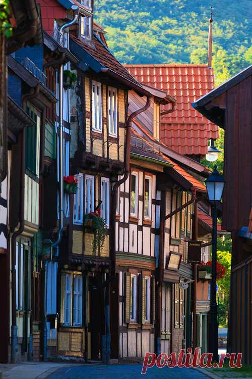 Fantastic cities of Germany. Vernigerode, Germany