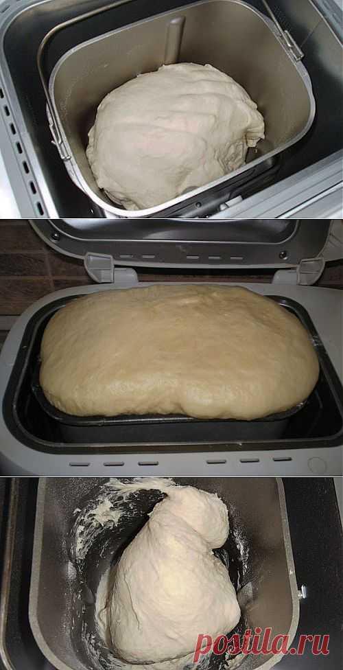 Хлебопечке все под силу: рецепты теста для пиццы, булочек, пирожков и другой выпечки / Простые рецепты