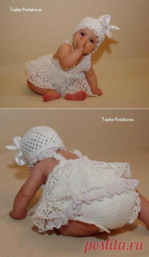 Бодик для маленькой принцессы. Связала p_tasha с осинки.