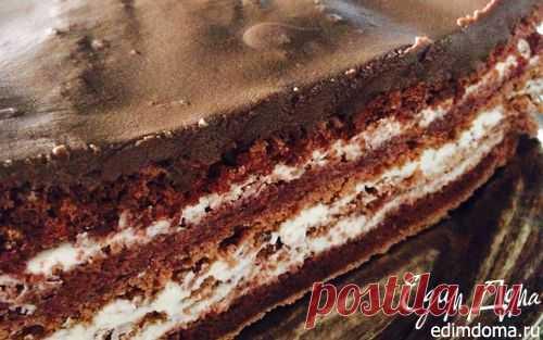 Шоколадный торт без муки (диетический) | Кулинарные рецепты от «Едим дома!»
