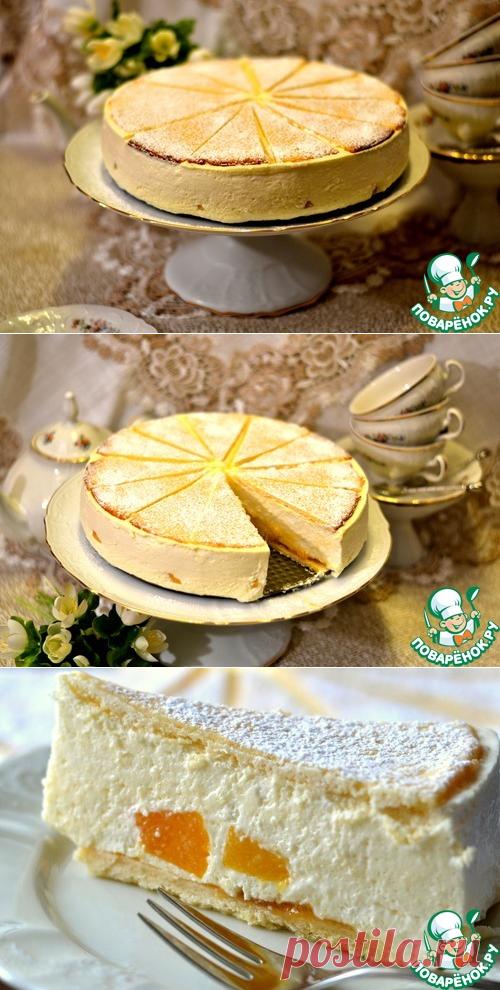 """Творожный торт """"Снежный"""""""