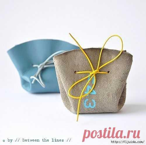 Мешочек для украшений (DIY) / Упаковка подарков / Модный сайт о стильной переделке одежды и интерьера