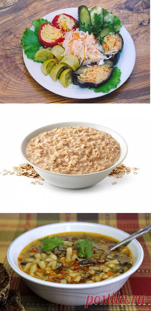 Правильное питание в первую Великого неделю поста / Простые рецепты
