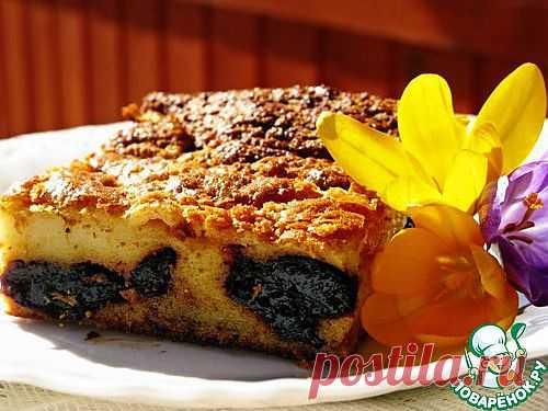 Пирог с черносливом. Автор: mizuko