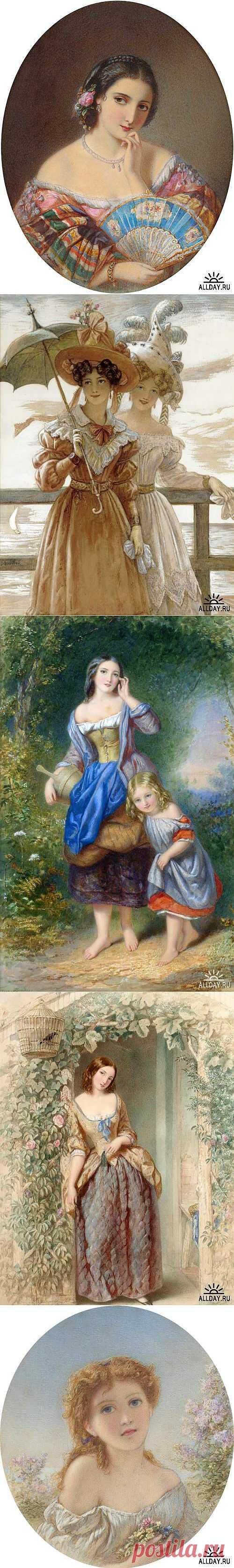 Английский художник Augustus Jules Bouvier (1827–1881) » ALLDAY - народный сайт о дизайне