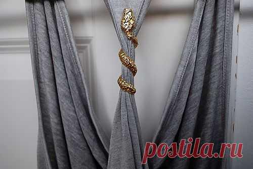 Кольцо на майке / Декор / Модный сайт о стильной переделке одежды и интерьера