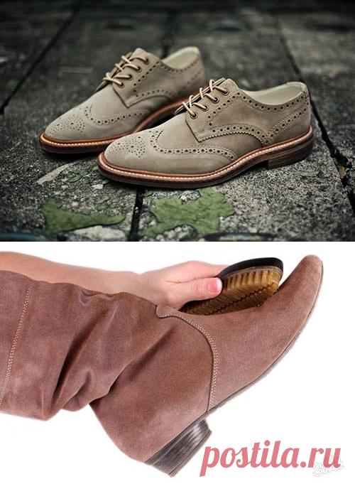 Как восстановить замшевую обувь: 4 способа обновить любимую обувь
