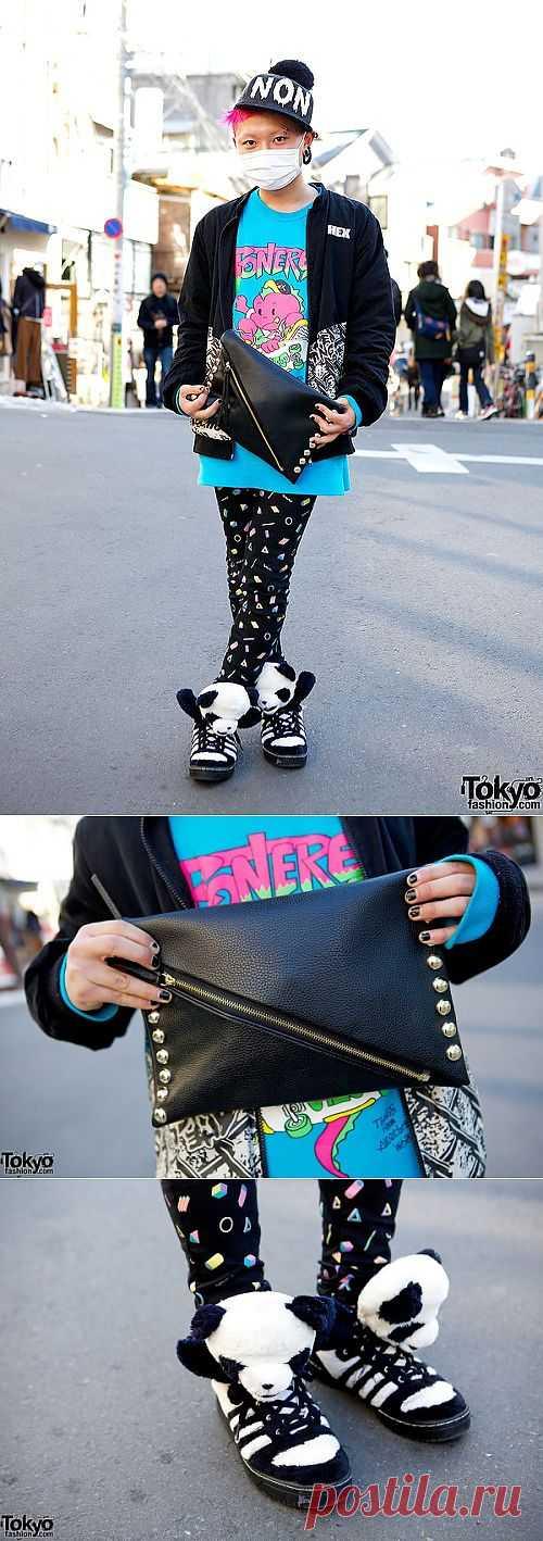 Легкое японское сумашествие / Street Style / Модный сайт о стильной переделке одежды и интерьера