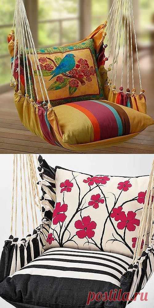 Кресла из подушек (трафик) / Мебель / Модный сайт о стильной переделке одежды и интерьера